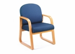 Boss Guest or Visitor Chair in Blue - B9560-BE