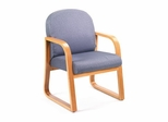 Boss Guest or Visitor Chair in Grey - B9560-GY