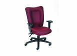 Boss Task Chair in Burgundy - B2007-BY