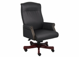 Boss Traditional Executive Chair in Black - B970