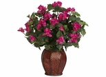 Bougainvillea with Vase Silk Plant - Nearly Natural - 6652