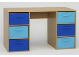 Boy's Student Desk in Beech - 4D Concepts - 12334