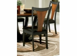 Boyer Dining Chair (Set of 2) in Black / Cherry - Coaster - 102092-SET