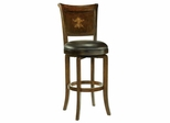Bradford Bar Stool with Wine Cabinet Design in Back - Hillsdale Furniture - 4864-830S