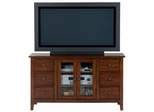 """Brentwood Oak 52"""" TV Stand with 6 Drawers - 043-9"""
