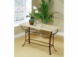 Brookside Fossil Sofa Table with Stone Top - Hillsdale Furniture - 4815OTS