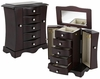 Buena Vista Jewelry Box - Warm Mahogany - JBQ-CL556