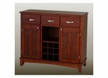 Buffet - Cherry Buffet and Wood Top - Home Styles - 5100-0072