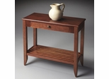 Butler Amber Two-tone Wooden Console Table