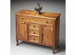 Butler Artifacts Moroccan Console Cabinet in Brown Tones
