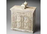 Butler Artifacts Off-White Moroccan Accent Chest