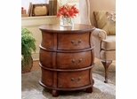 Butler Barrel Table Side Accent Drum Table