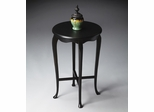 Butler Black Licorice Queen Anne-inspired Accent Table