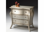 Butler Bombe Chest Brushed Pewter