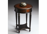 Butler Cafe Noir Lightly Distressed Finish Accent Table