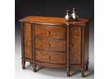 Butler Console Cabinet Classic Walnut
