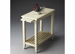 Butler Cottage White Simplicity Chairside Table