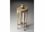 Butler Driftwood Pull Out Tray Accent Table