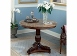 Butler Fossil Stone Pedestal Accent Table