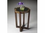 Butler Heritage Handcrafted Starburst Inlay Accent Table