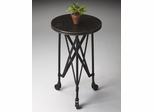 Butler Iron on Iron Casters Accent Table