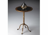 Butler Metalworks Aged Cast-metal Accent Table