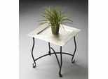 Butler Metalworks Inspired Traditional Moroccan Tea Tray Table