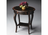 Butler Midnight Rose Hardwood Oval Accent Table