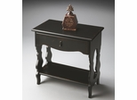 Butler Midnight Rose Physically Distressed Solid Wood Side Table