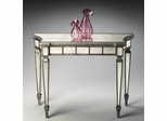 Butler Mirror Inlay Console Table