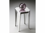 Butler Modern Expressions Polished Aluminum Side Table