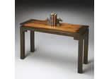 Butler Mountain Lodge Raised Top Rustic Console Table