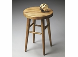 Butler Natural Wood Butcher Block Seat Stool