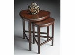 Butler Nesting Tables Chocolate