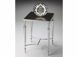 Butler Nickel Granite Top Side Table