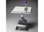 Butler Nickel Plated Balancing Act Accent Table