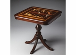 Butler Plantation Cherry Reversible Game Table with Urn Pedestal