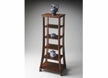 Butler Plantation Cherry Six Rectangular Shelves Etagere