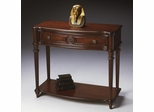 Butler Plantation Cherry Veneer Console Table