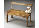 Butler Solid Acacia Natural Wood Bench