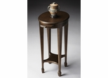 Butler Specialty Accent Table Black on Gold Finish