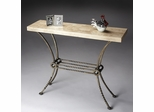Butler Specialty Company Metalworks Platinum Console Table