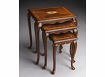 Butler Specialty Nest Of Tables Olive Ash Burl Finish