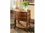 Butler Specialty Oval Side Table Umber