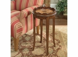 Butler Specialty Plantation Cherry, Maple and Walnut Round Side Table