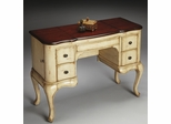 Butler Vanilla & Cherry Hand Painted Distressed Finish Vanity