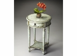 Butler Water's Edge Aged Vintage Linen Finish Accent Table