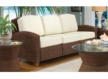 Cabana Banana 3 Section Sofa in Cocoa - Home Styles - 5402-61