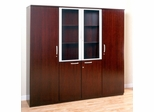 Cabinet Package in Sierra Cherry - Mayline Office Furniture
