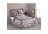 Cal King Size Comforter Set - 14 Piece Set in Pagoda Pattern - 82EQ714PAG